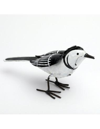 Bergeronnette en métal peint - Décoration-Petits oiseaux