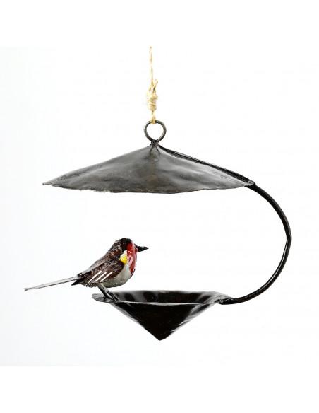 Suspension conique Rouge Gorge-Mangeoire oiseaux à suspendre